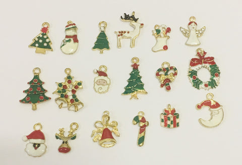 Grab Bag -  3 Christmas Charms