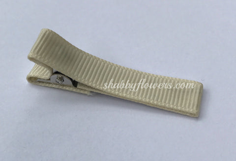 Lined Clip in Ivory