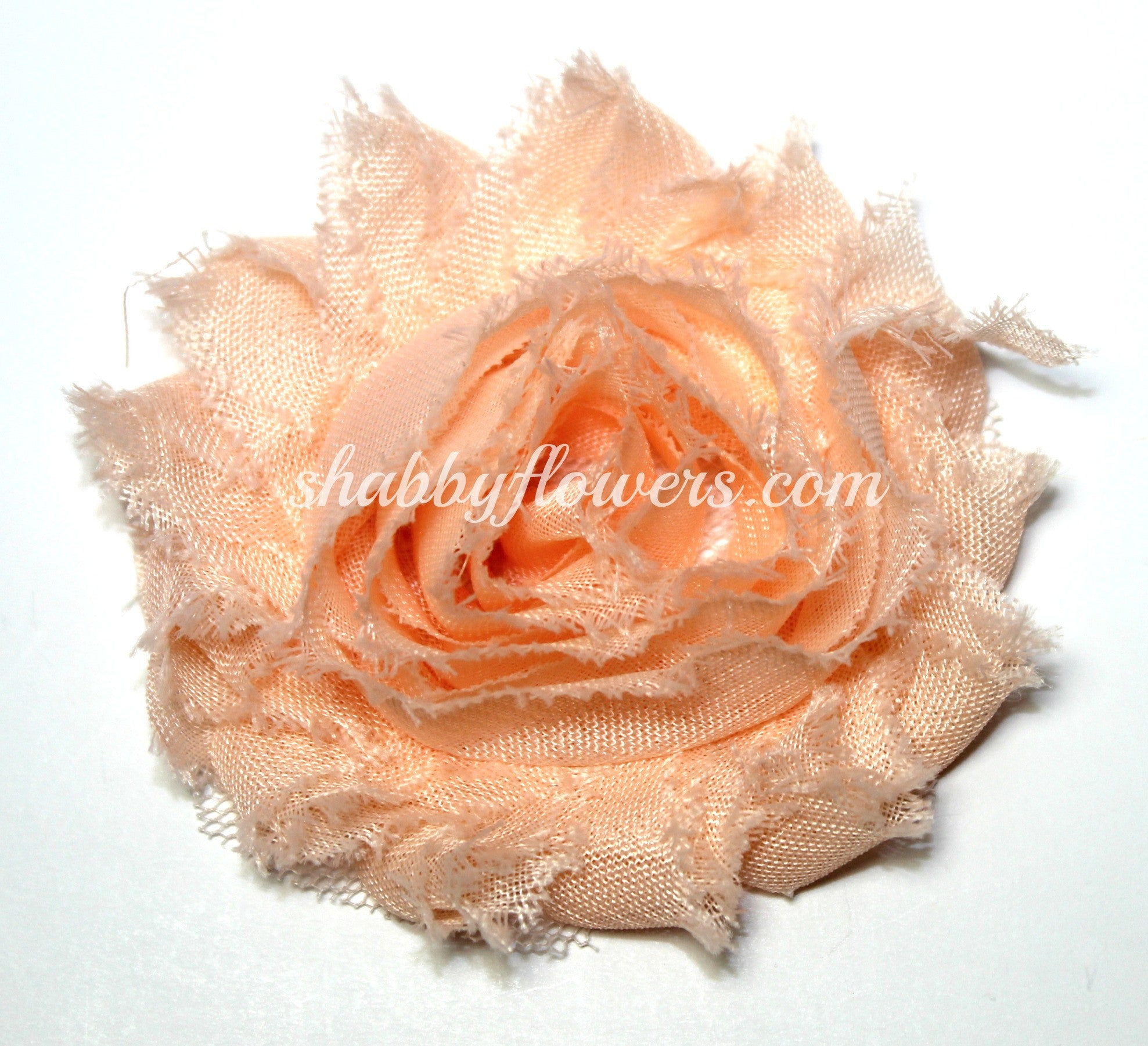 Shabby Flower - Peach Blush - shabbyflowers.com