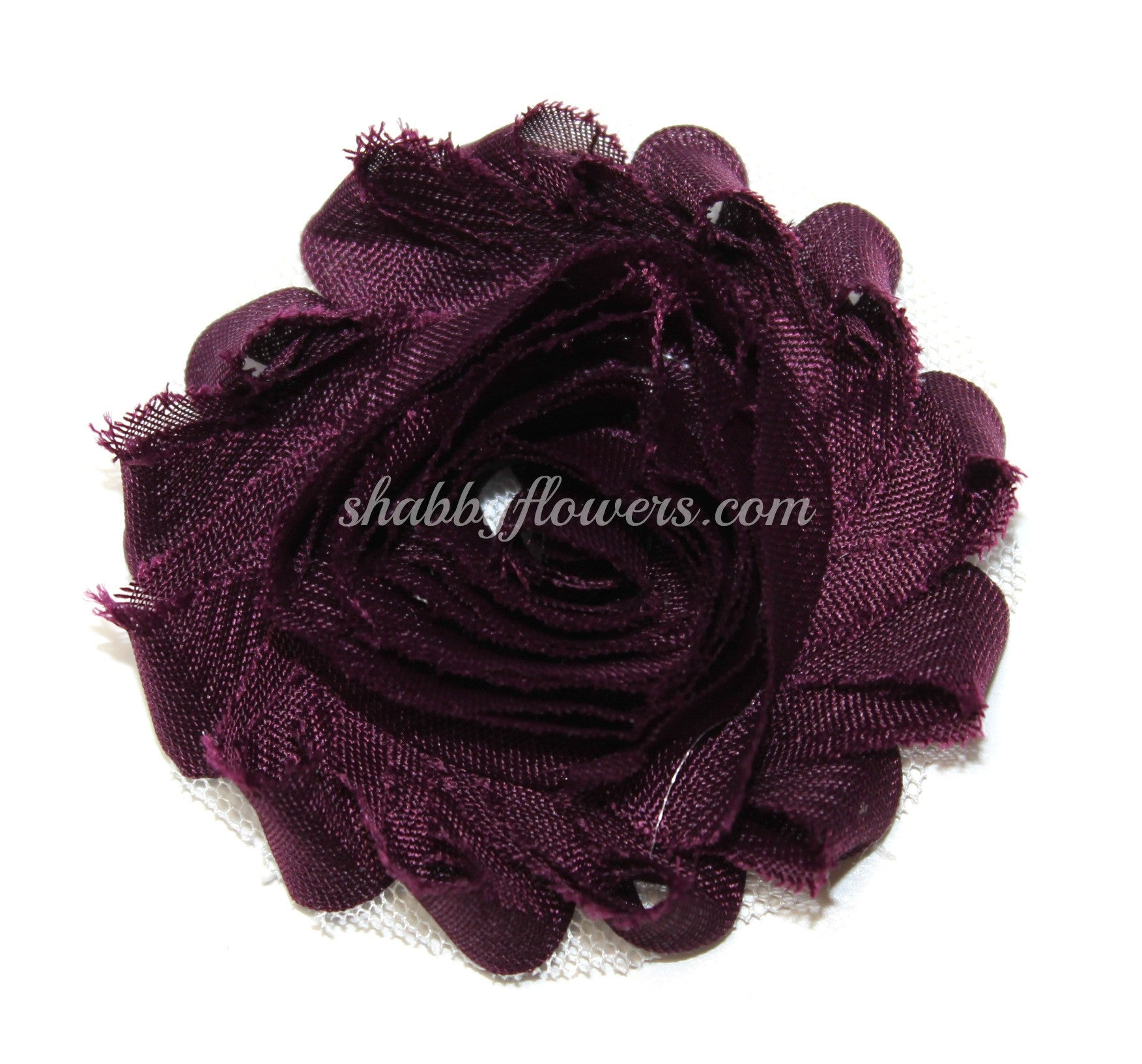 Shabby Flower - Plum - shabbyflowers.com