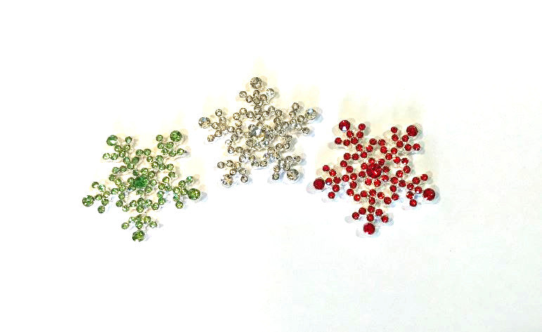 Embellishment - Snowflake - Choose your color - shabbyflowers.com