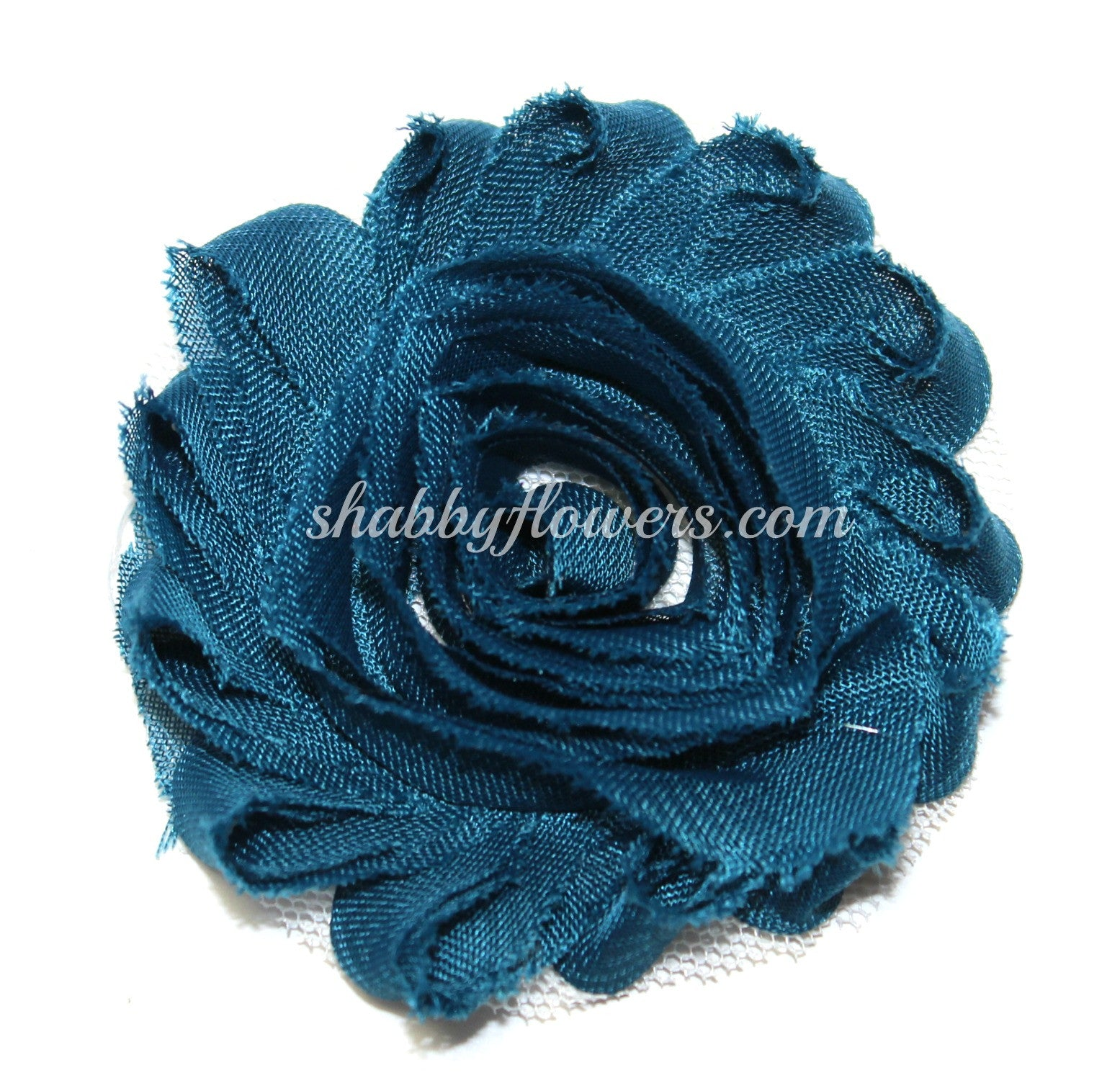 Shabby Flower - Teal - shabbyflowers.com