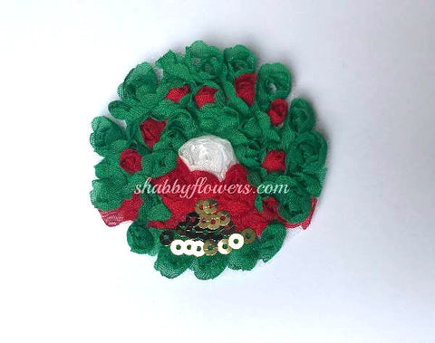 Shabby Christmas Wreath