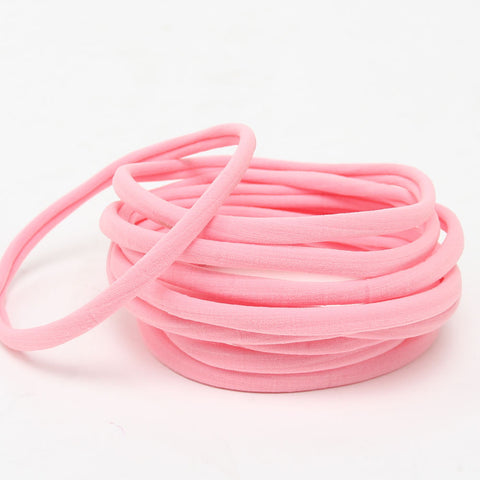 Nylon Headband- Light Pink