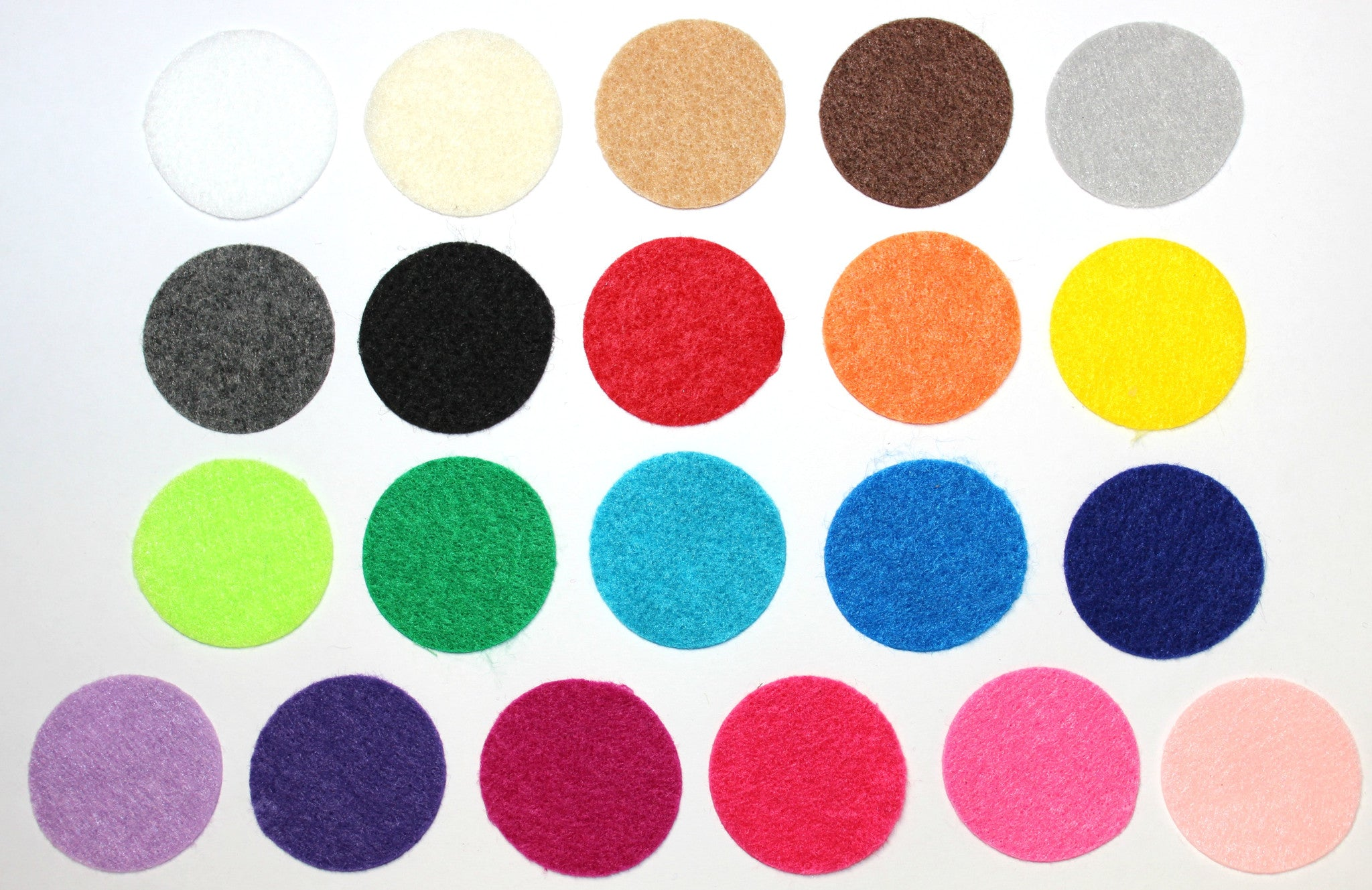 Grab Bag - Felt Circles (200 Circles) - shabbyflowers.com