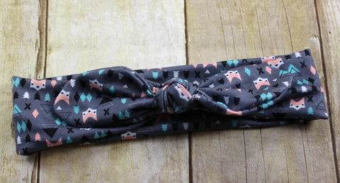 Knot Headband - Fox - Size Regular