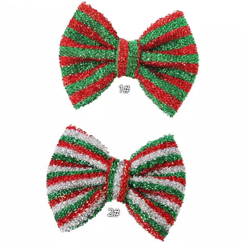 Christmas Large Bow - Choose Your Color