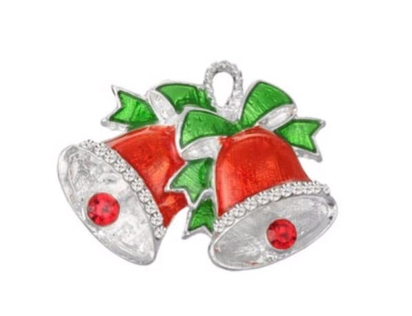 Embellishment - Christmas Bells - shabbyflowers.com