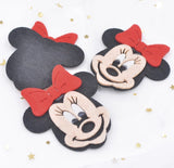 Minnie Mouse Felt Appliqué