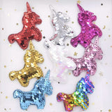 Reversible Sequin Padded Baby Unicorn - Choose Your Color - shabbyflowers.com