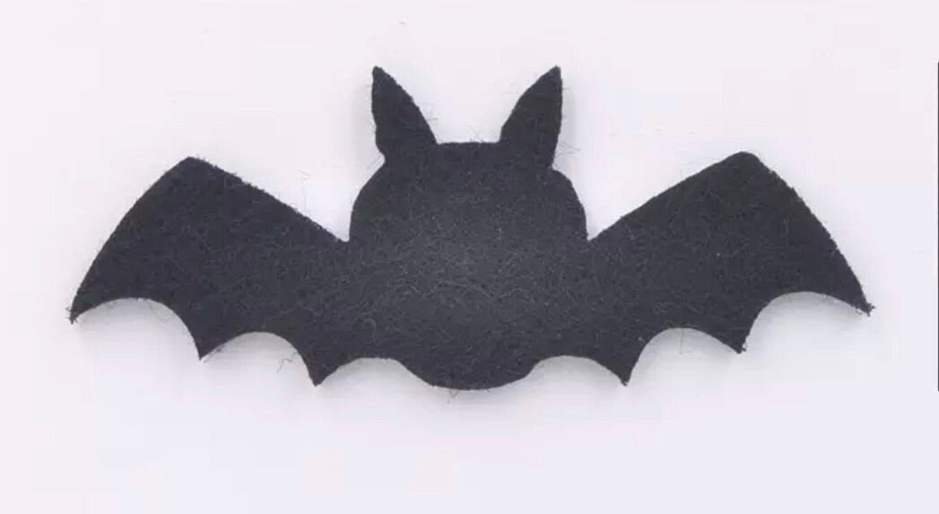 Bat Felt Appliqué - shabbyflowers.com