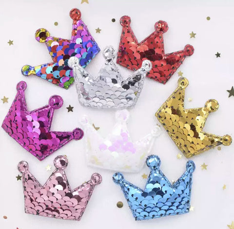 Reversible Sequin Padded Crown - Choose Your Color