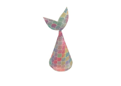 Mermaid Tail Party Hat - Bright Scale