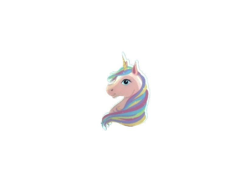Unicorn head resin - shabbyflowers.com