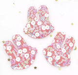 Sequin Padded Bunny Applique - Choose Your Color - shabbyflowers.com