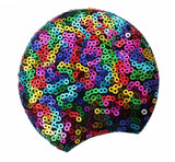 Sequin Padded Mouse Ears Adult Size- Rainbow