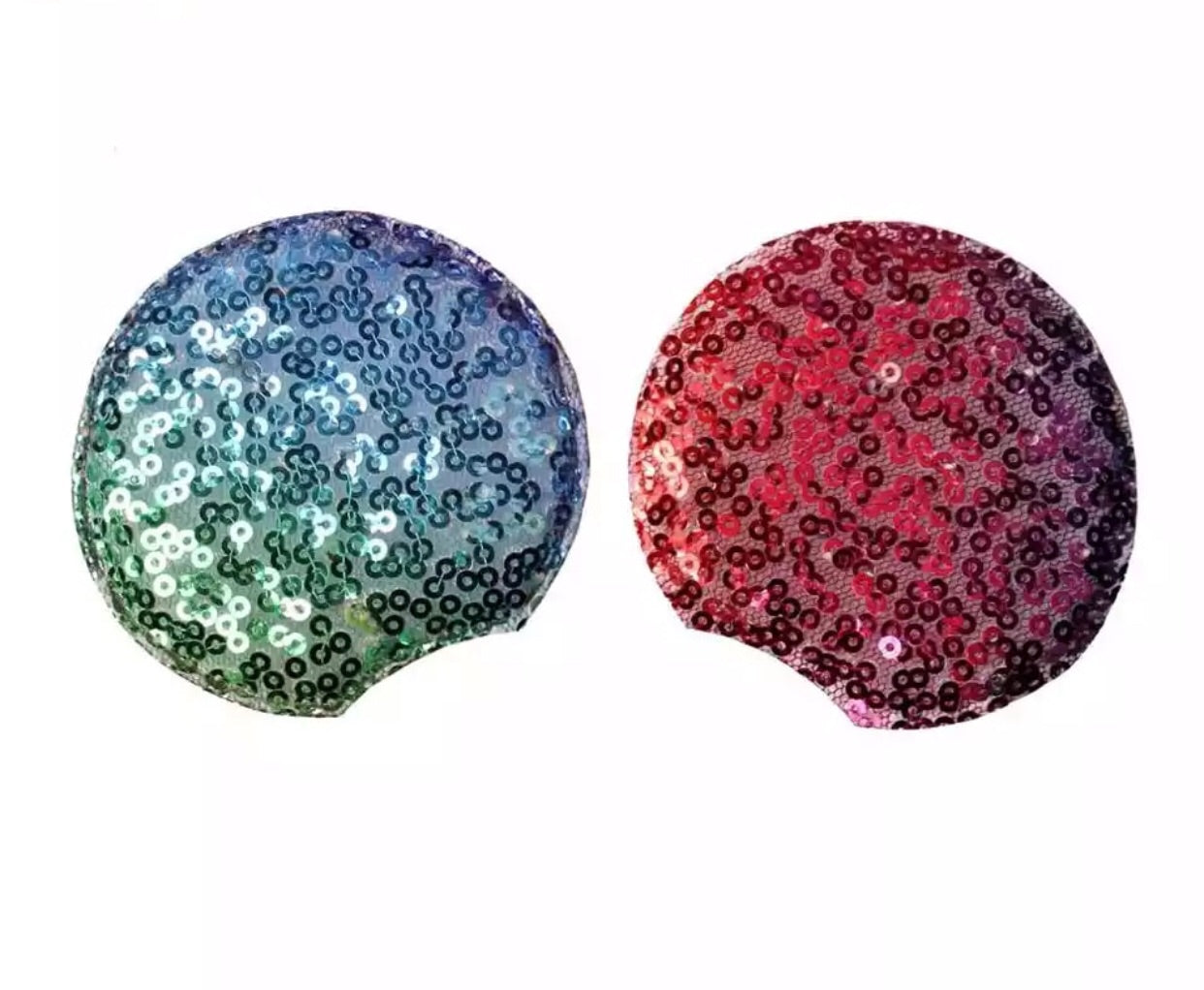 Sequin Padded Mouse Ears - Ombre - shabbyflowers.com