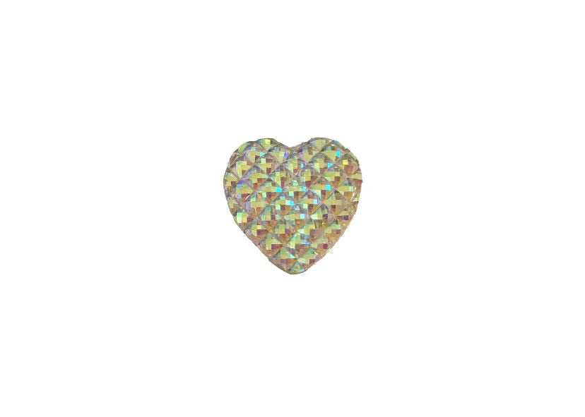 Heart Flatback Embellishment - shabbyflowers.com