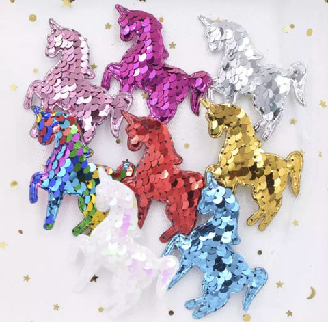 Reversible Sequin Padded Unicorn - Choose Your Color