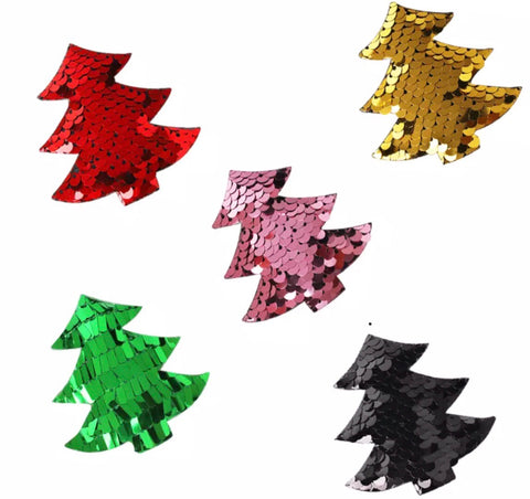 Sequin Christmas Tree - Choose Your Color