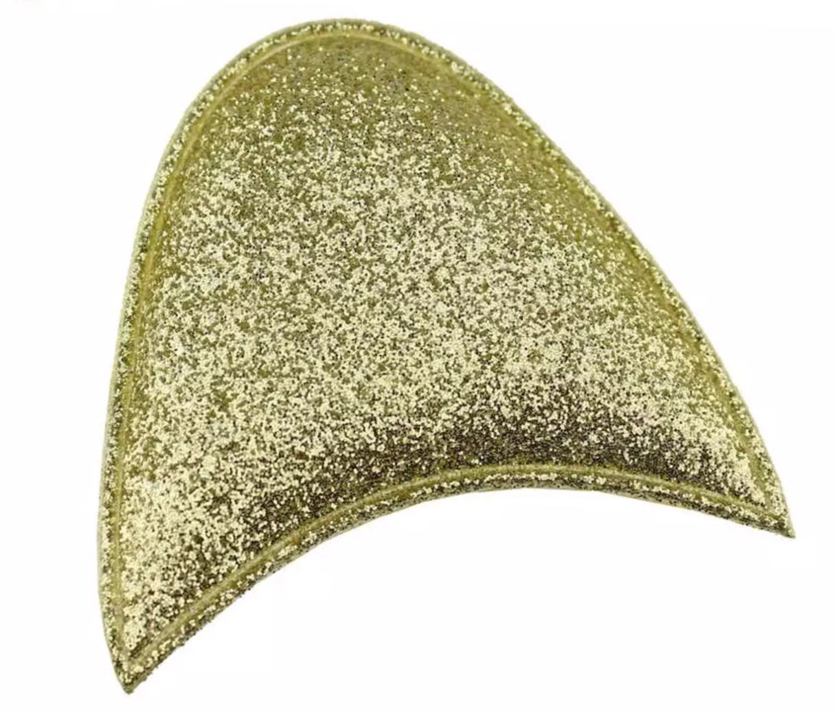 Padded Unicorn Ears - Gold