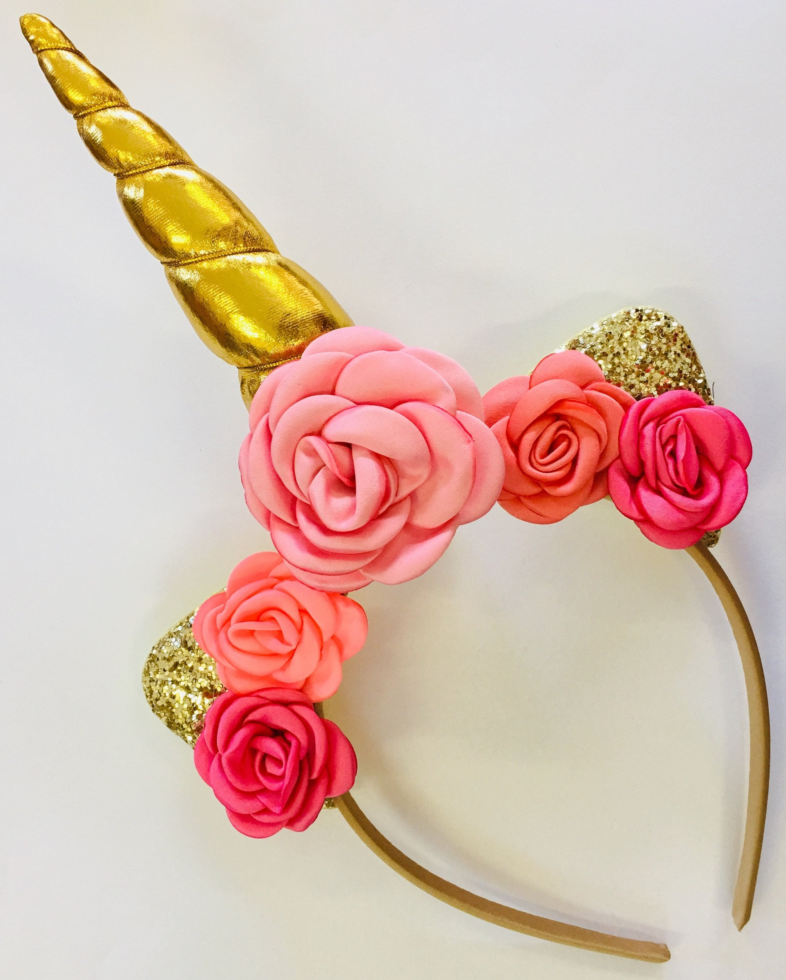 Unicorn Horn Headband Kit - Gold
