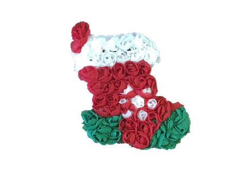 Shabby Christmas Stocking