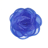 Organza Rose - Royal Blue
