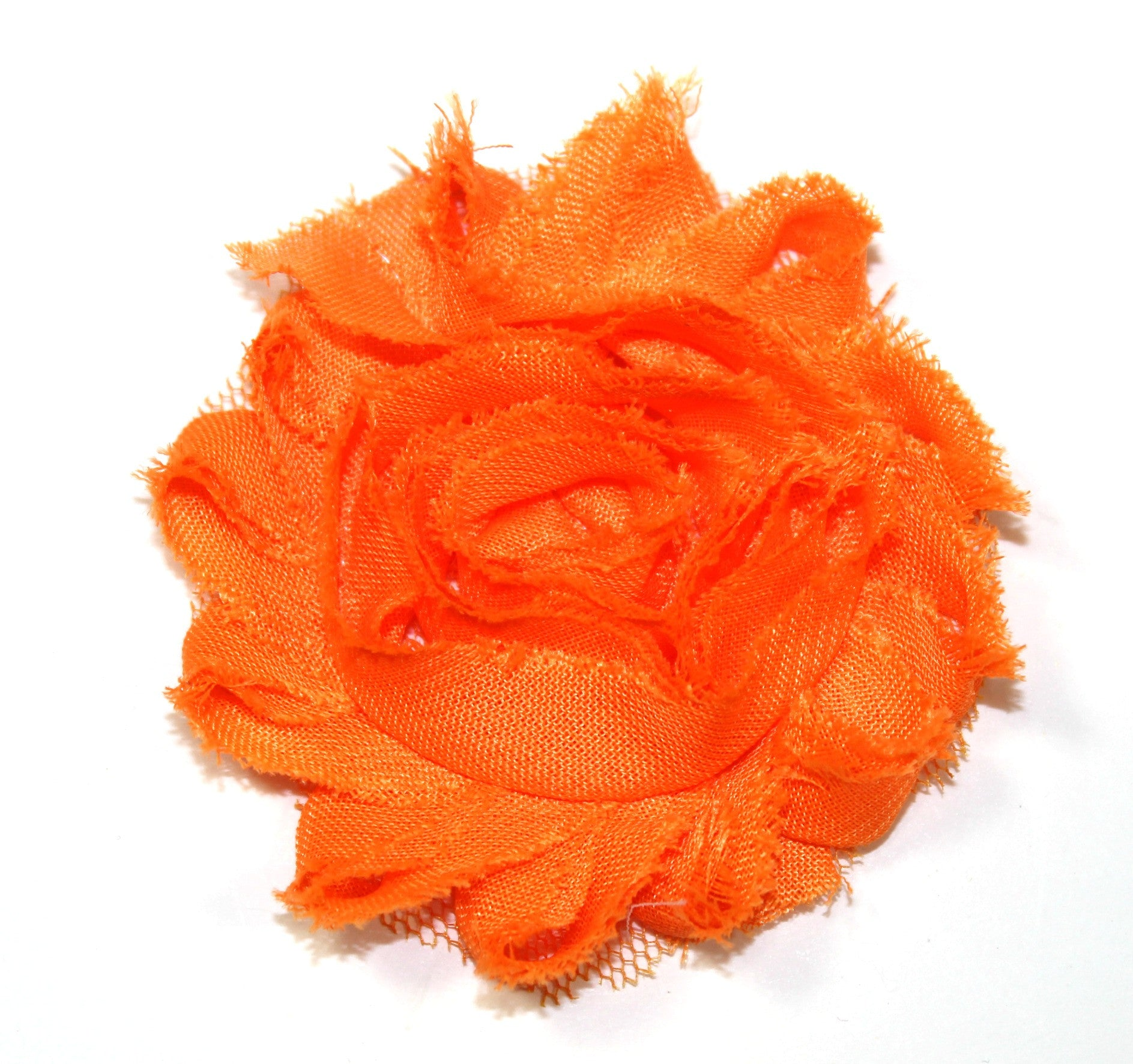 Shabby Flower - Orange - shabbyflowers.com