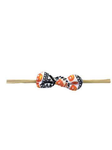 Nylon Knot Headband - Tribal Pumpkin