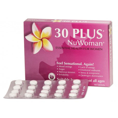 30 Plus NuWoman for PMT or Menopause