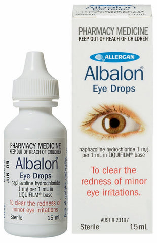 Albalon Eye Drops for Red Eye