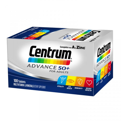 CENTRUM Advance 50+ 100s