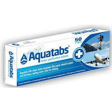 AQUATABS Water Purify 50 tabs RAD
