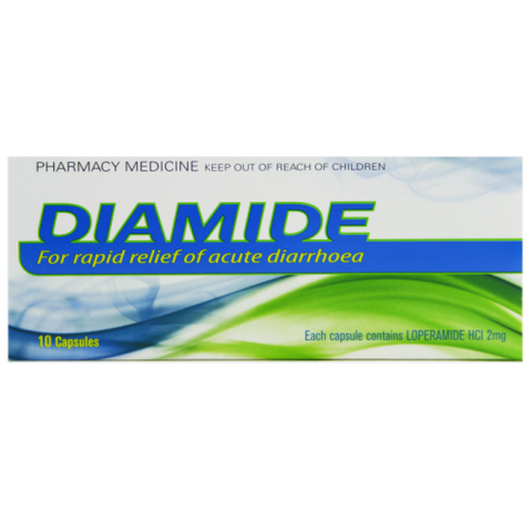 DIAMIDE 2mg Capsules 10s NS