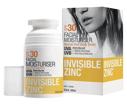 Invisible Zinc Sunscreen Moisturiser