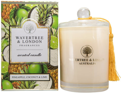 W&L Candle P/Apple C/Nut &Lime 303g