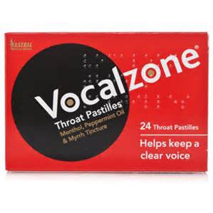 VOCALZONE Throat Pastilles 24pk