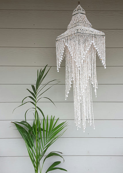 """A lovin light""extra large shell chandelier - The boho gypsea"