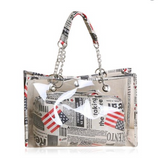 Stylish Women's Transparent Tote