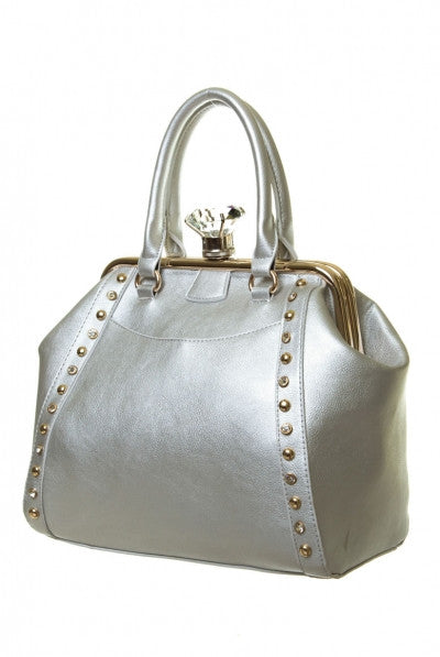 Premium Bag With Big Diamond Push Closure