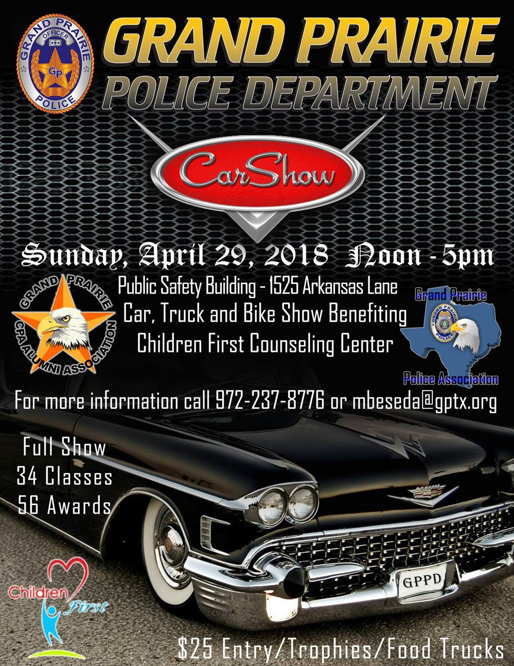 Grand Prairie Police Department Car Show