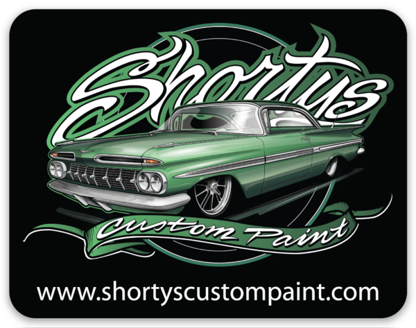 Shorty's Holographic Impala Sticker