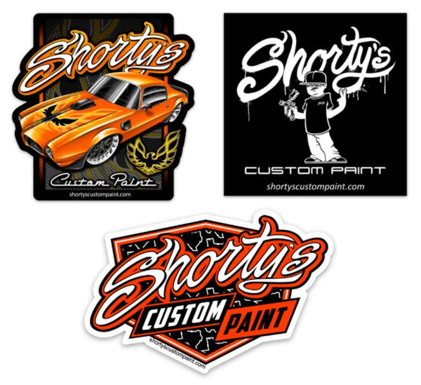 Shorty's Sticker Package #2