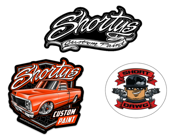Shorty's Sticker Package #1