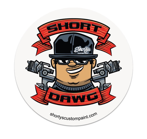 Short Dawg Sticker