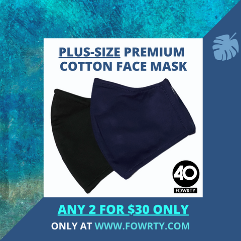 Premium Plus-Size Fabric Mask