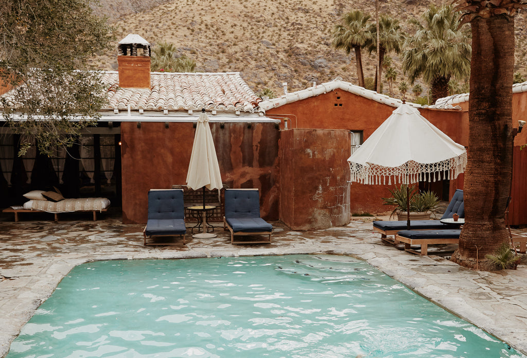 A Mediterranean Oasis in Palm Springs
