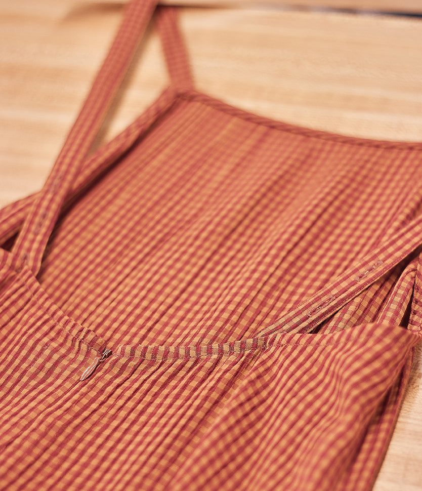 Blood Orange Gingham | 1