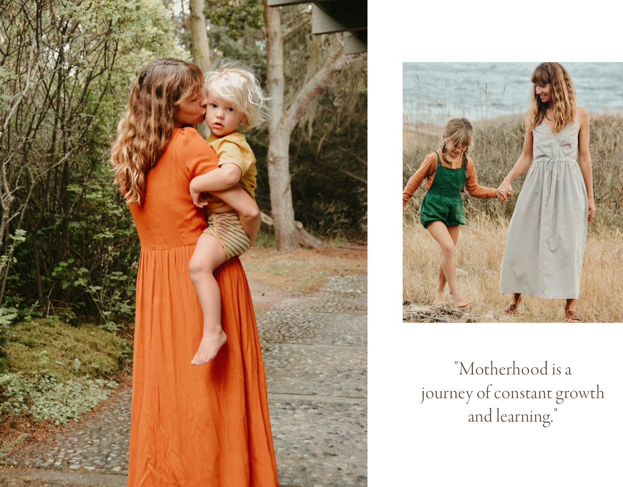 Motherhood is a  journey of constant growth and learning.